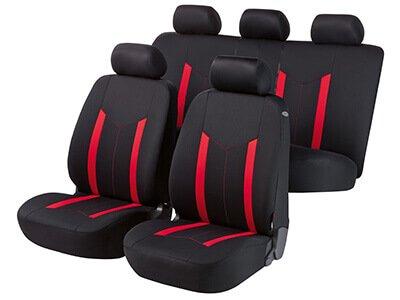 Sitzbezüge rot hinten KOS VW POLO