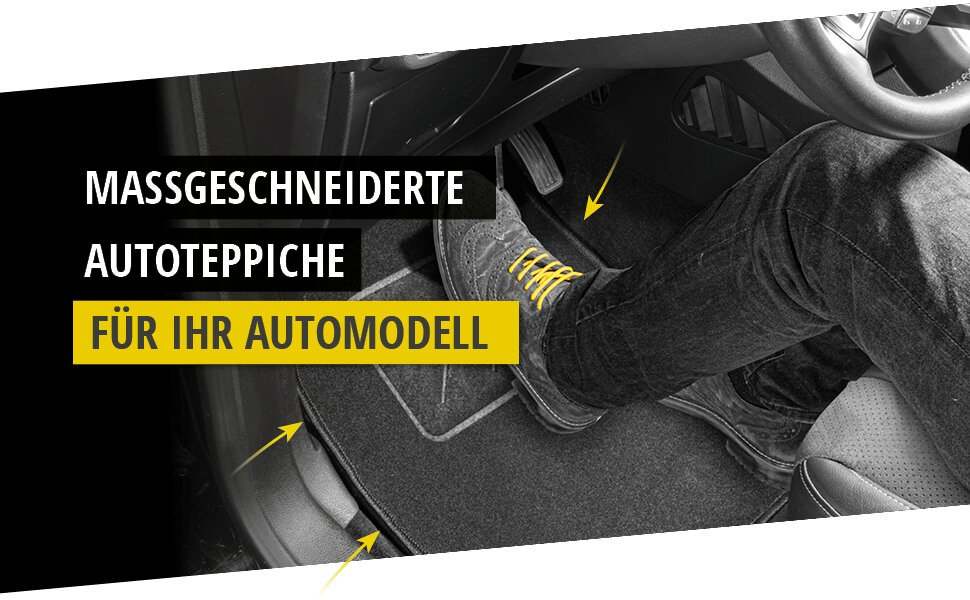 Heute Fußmatten für Porsche Panamera Baujahr 09//2009