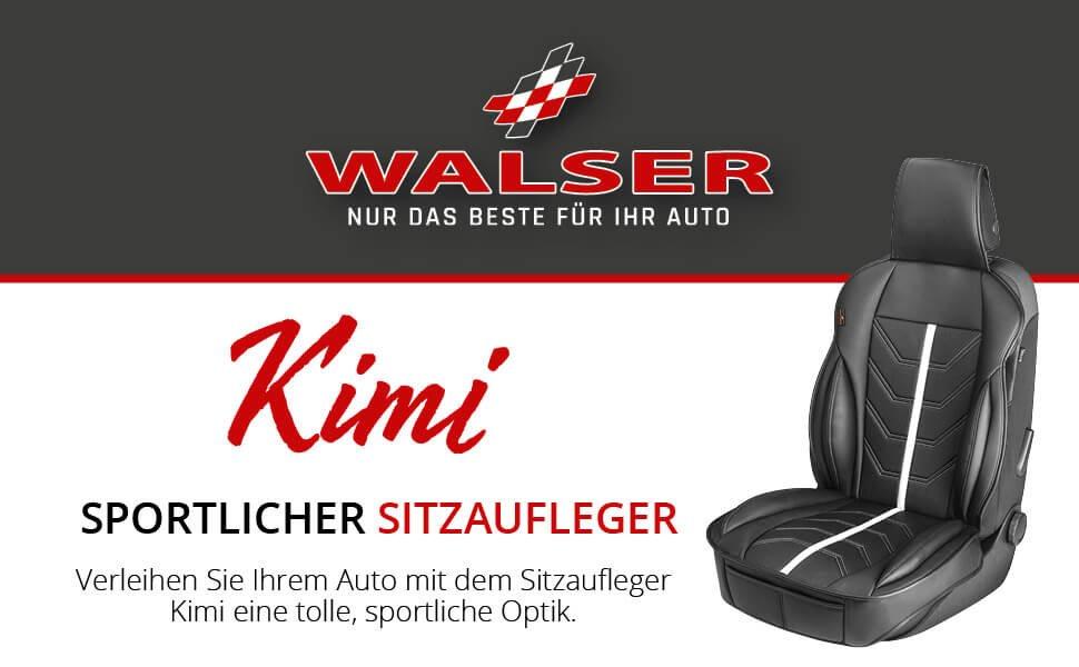 Walser 13987 Sitzaufleger Kimi schwarz weiß